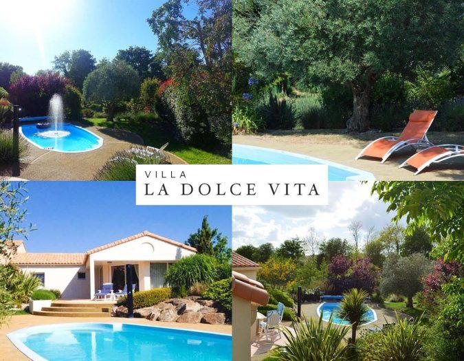 Poolvillavendee Villa La Dolce Vita Les Jardins des Sables d'Olonne Vendee Frankrijk Compilatie