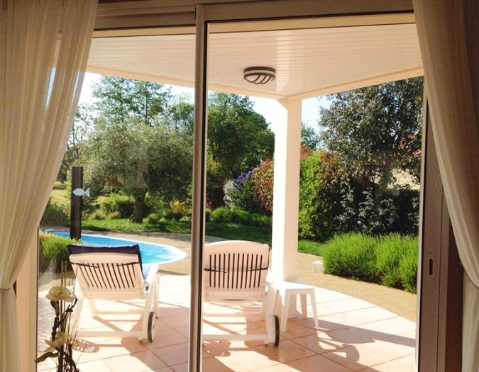 Poolvillavendee Villa La Dolce Vita Les Jardins des Sables d'Olonne Vendee Frankrijk Terras