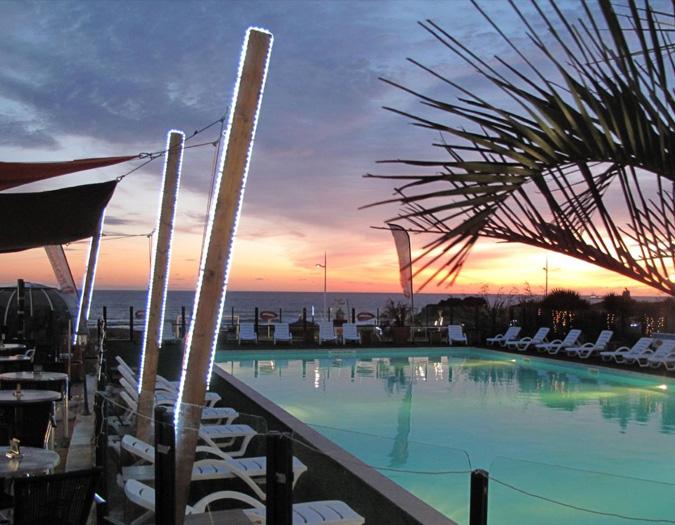 Poolvillavendee Villa La Dolce Vita Les Jardins des Sables d'Olonne Vendee Frankrijk Restaurant La Anguilla Beach