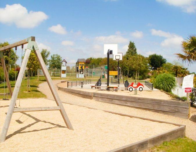 Poolvillavendee Villa La Dolce Vita Les Jardins des Sables d'Olonne Vendee Frankrijk Het Park