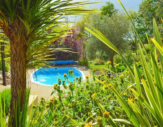 Poolvillavendee Villa La Dolce Vita Les Jardins des Sables d'Olonne Vendee Frankrijk Tuin