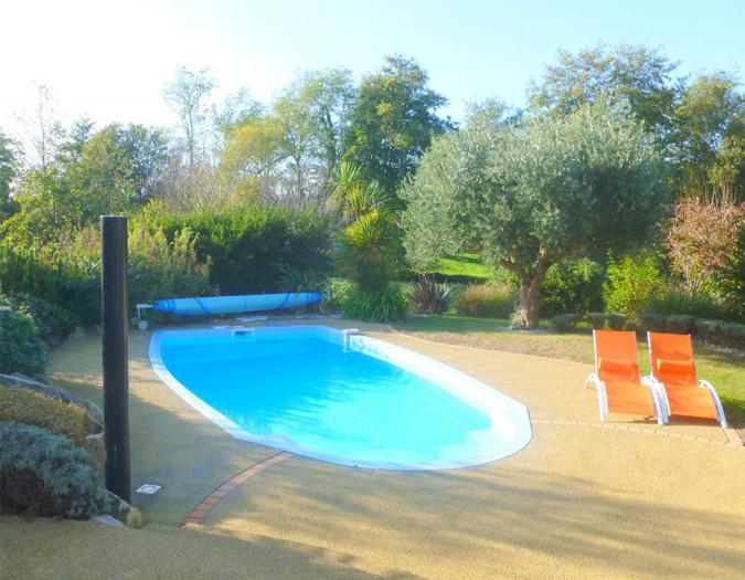 Poolvillavendee Villa La Dolce Vita Les Jardins des Sables d'Olonne Vendee Frankrijk Zwembad